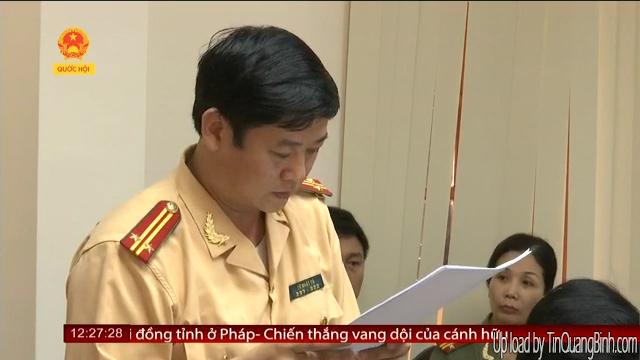 Quảng Bình: Giám sát thi hành luật giao thông