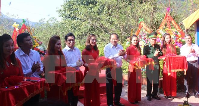 Quảng Bình khánh thành cụm thông tin đối ngoại cửa khẩu Cha Lo