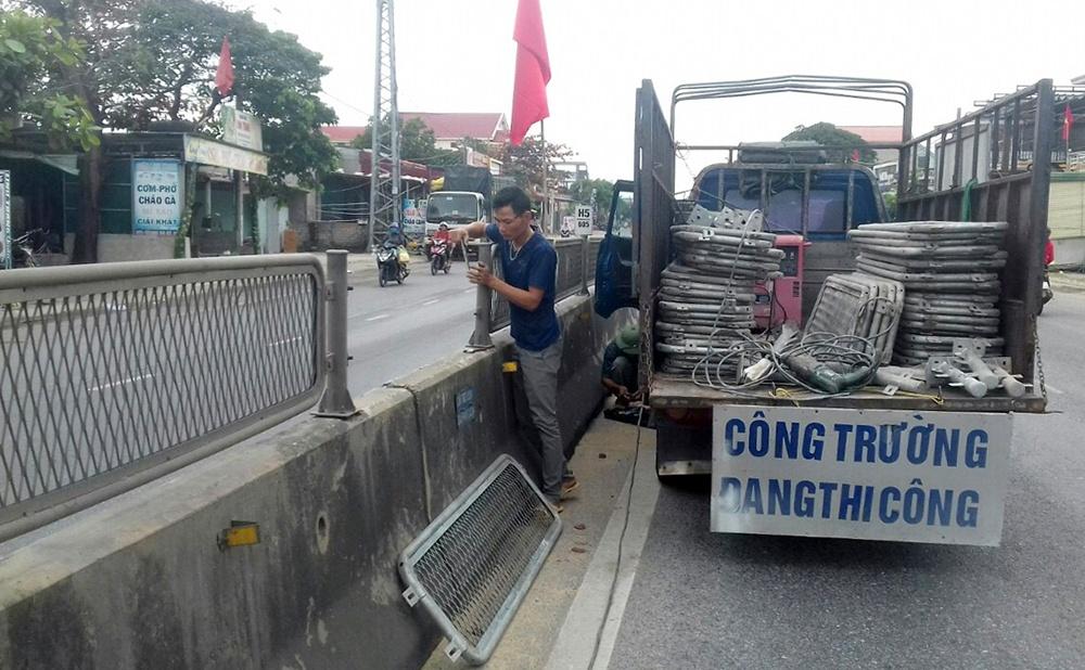Quảng Bình: Lưới chống chói vừa lắp đã bị tháo, công an rốt ráo điều tra