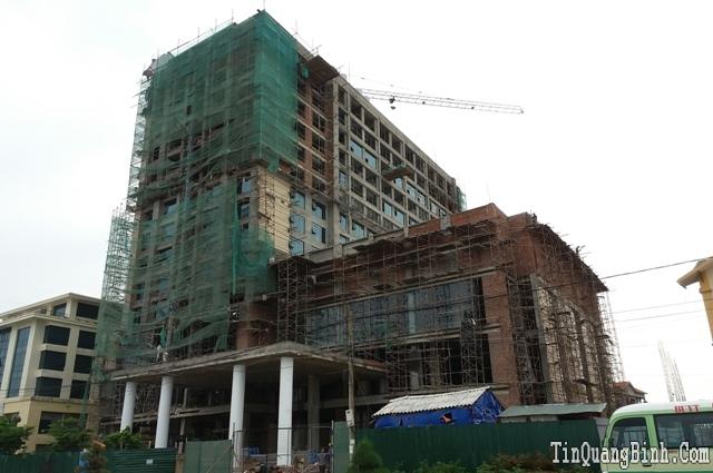 Quảng Bình: Một công nhân tử vong tại công trình xây dựng khách sạn Mường Thanh