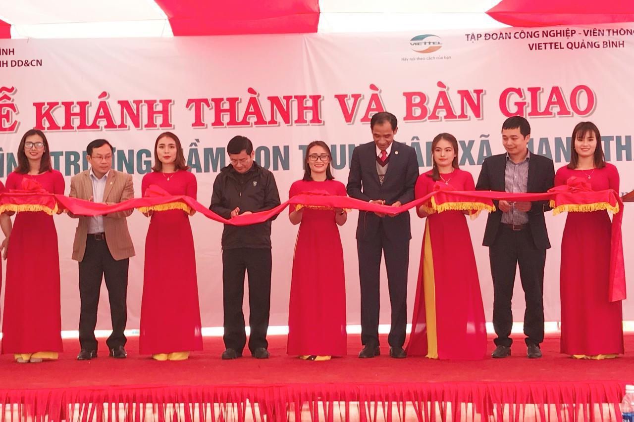 Quảng Bình: Một công trình ý nghĩa tại vùng khó