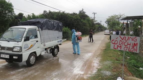 Quảng Bình: Nỗ lực ngăn chặn dịch lở mồm long móng
