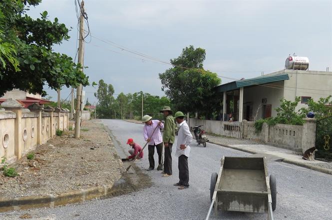 Quảng Bình: Phân bổ hơn 482 tỷ đồng xây dựng nông thôn mới năm 2020