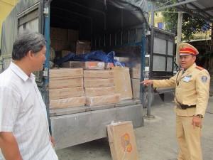 Quảng Bình: Phát hiện vụ vận chuyển 600kg đùi gà, chân gà không rõ nguồn gốc