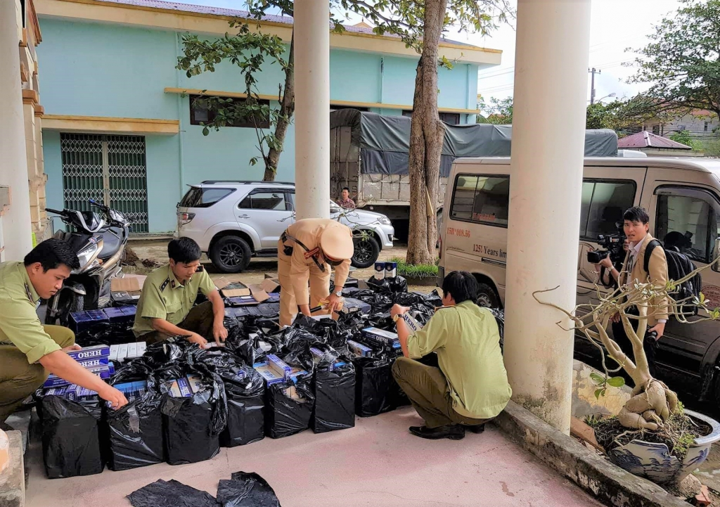 Quảng Bình: Tăng cường chống buôn lậu, gian lận thương mại