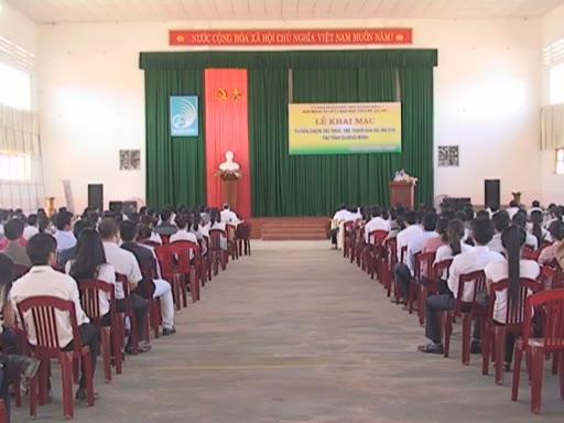 Quảng Bình tuyển chọn tri thức trẻ tham gia đề án 500