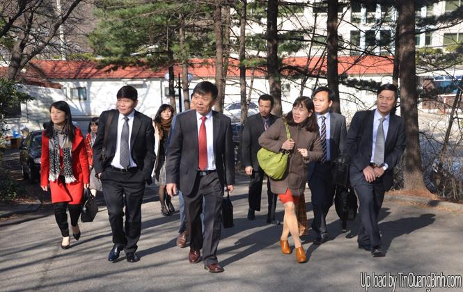 Quảng Bình xúc tiến đầu tư tại Bu San, Hàn Quốc