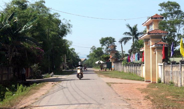 Quảng Ninh: Bình quân đạt 15,5 tiêu chí nông thôn mới/xã