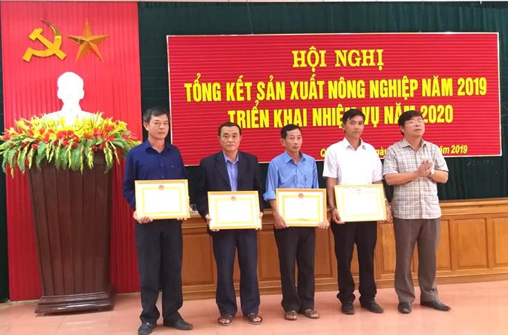 Quảng Ninh: Chuẩn bị triển khai sản xuất vụ đông-xuân 2019-2020