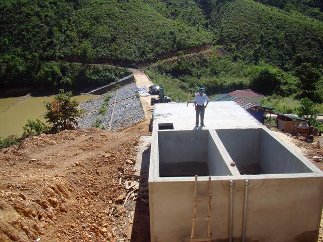 Quảng Ninh: Đầu tư xây dựng công trình nước sạch cho đồng bào dân tộc Vân Kiều