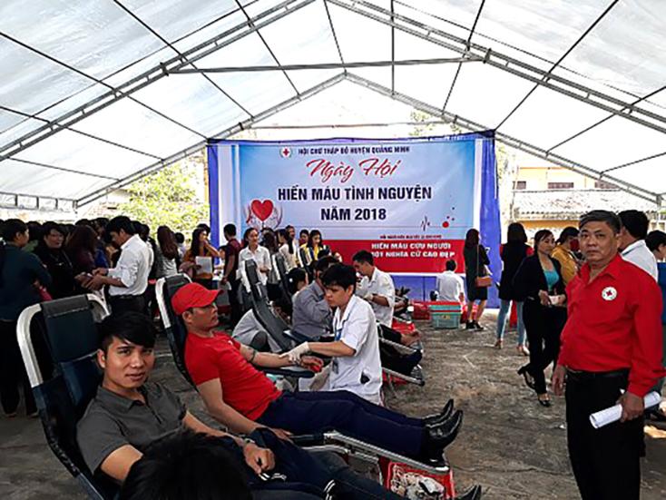 Quảng Ninh: Lan toả hoạt động nhân đạo, từ thiện