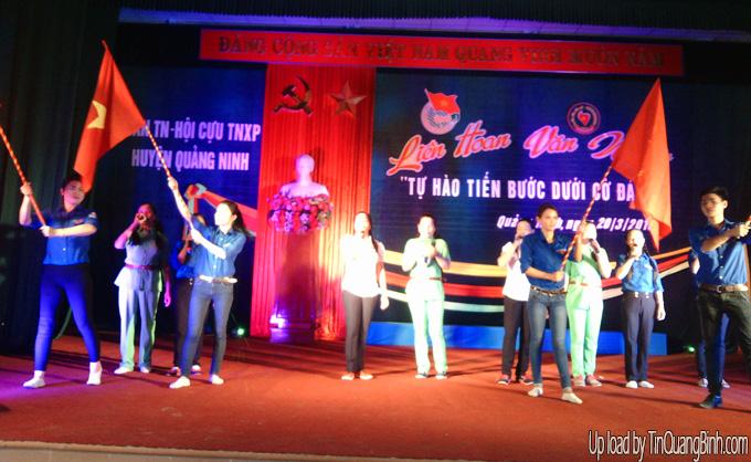 """Quảng Ninh: Liên hoan văn nghệ """"Tự hào tiến bước dưới cờ Đảng"""