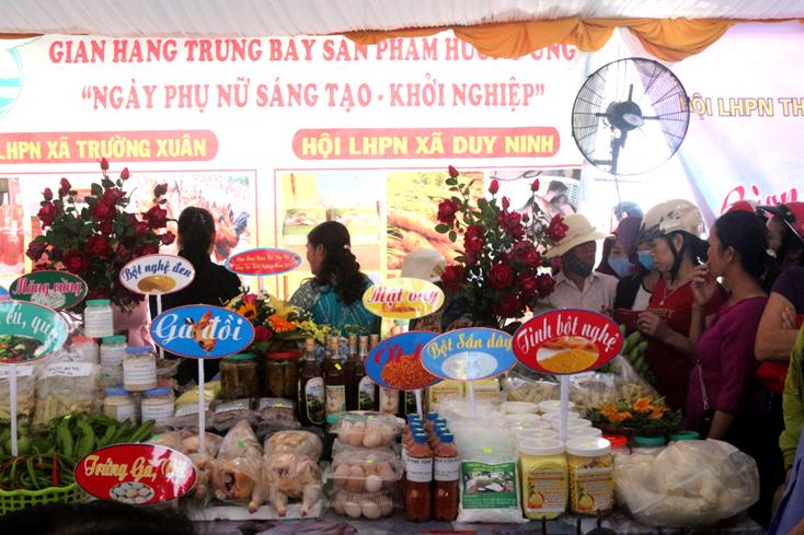 """Quảng Ninh: Sôi nổi ngày hội """"Phụ nữ sáng tạo, khởi nghiệp"""""""