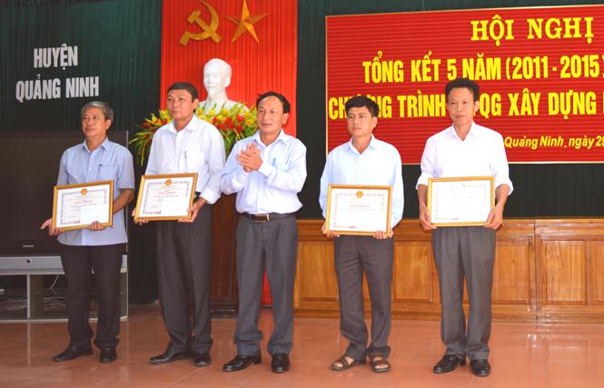 Quảng Ninh: Tổng kết 5 năm thực hiện Chương trình mục tiêu Quốc gia xây dựng nông thôn mới