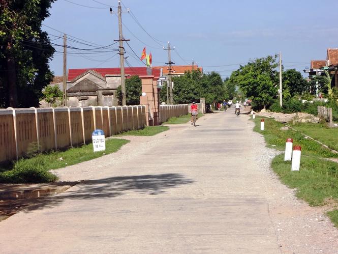 Quảng Tiên: Phát huy nội lực để về đích nông thôn mới