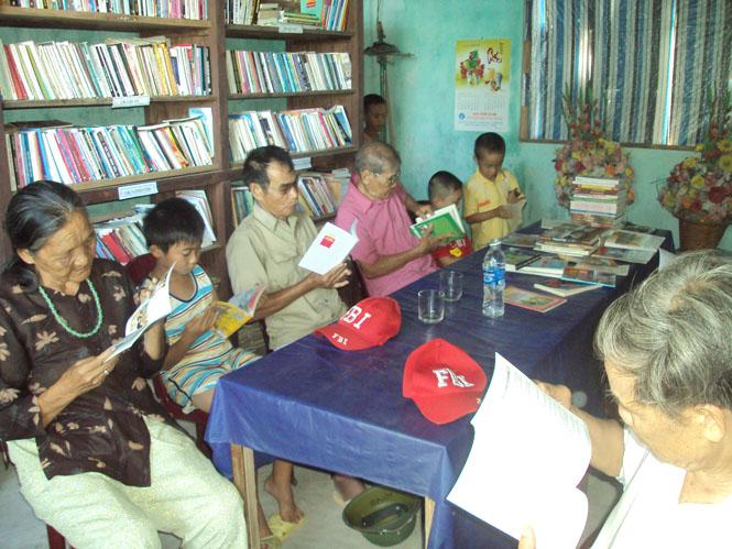 Quảng Xá làng đọc sách