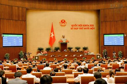 Quốc hội bầu đồng chí Nguyễn Xuân Phúc giữ chức Thủ tướng Chính phủ