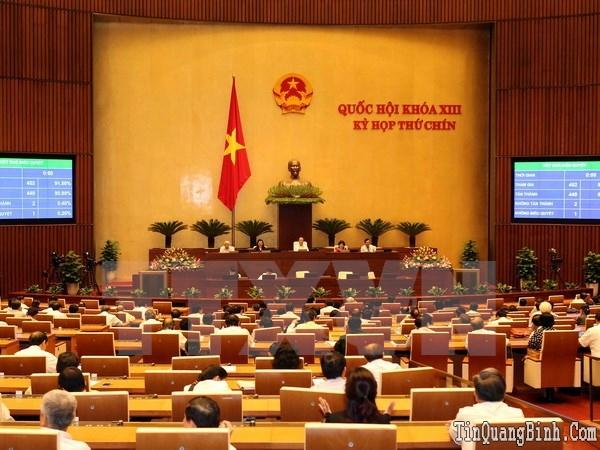 Quốc hội Khóa XIII hoàn thành chương trình nghị sự Kỳ họp thứ 9