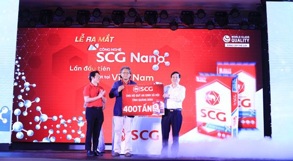 Ra mắt sản phẩm xi măng chất lượng quốc tế SCG Super Xi măng