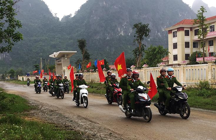 Ra quân tấn công các loại tội phạm, bảo vệ Tết Nguyên đán