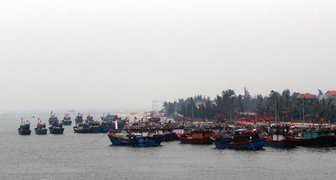 Sản lượng đánh bắt thủy sản đạt 90,7% kế hoạch