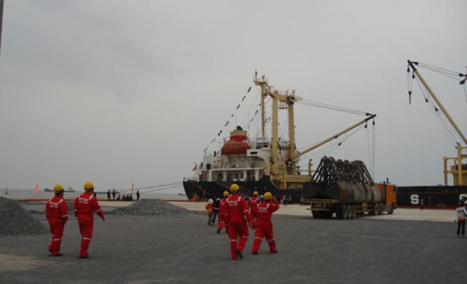 Sản lượng hàng hóa vận chuyển qua cảng biển đạt 3,5 triệu tấn