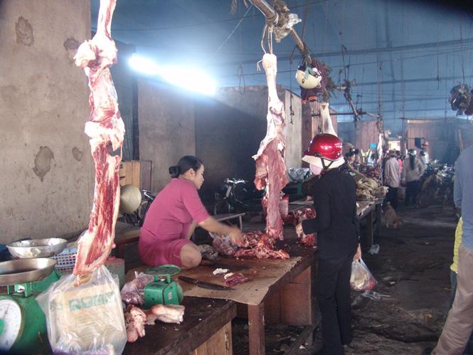 Sản lượng thịt hơi xuất chuồng đạt 44.726 tấn