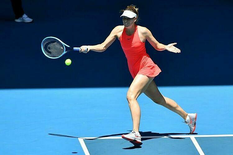Sharapova chưa chắc trở lại Australia Mở rộng