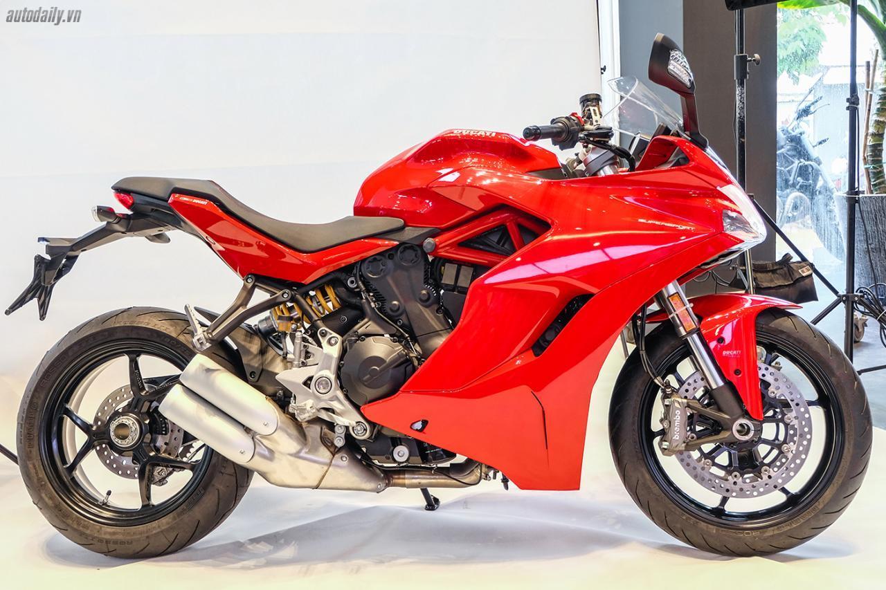 """""""Siêu phẩm"""" Ducati SuperSport hoàn toàn mới ra mắt tại Việt Nam"""