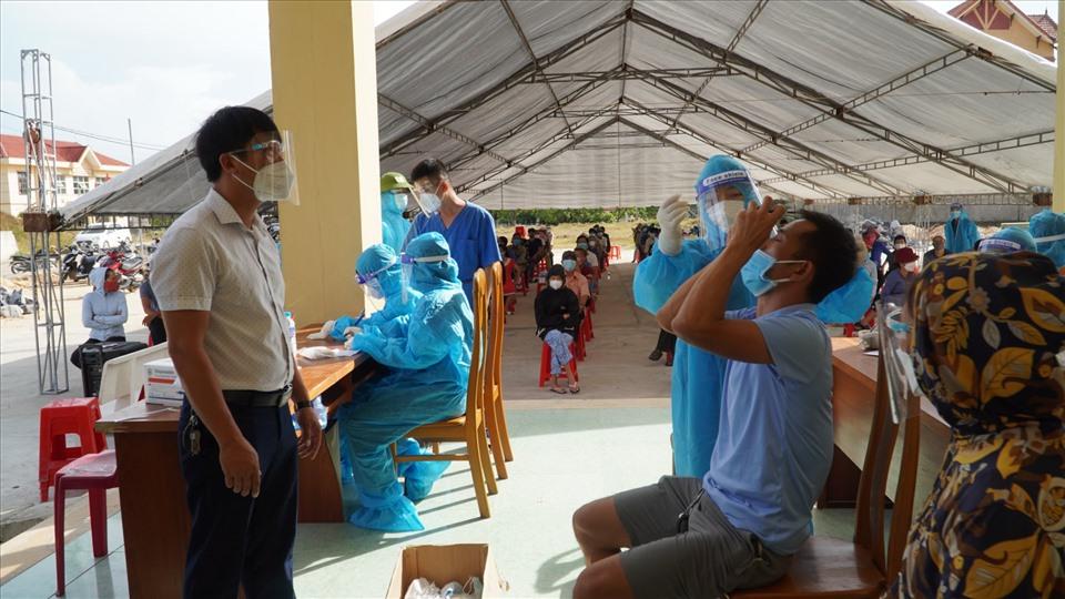 Số ca nhiễm mới COVID-19 tại Quảng Bình lại tăng cao