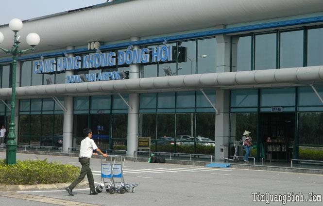 Số lượng hành khách di chuyển qua Cảng hàng không Đồng Hới tăng 86% so với cùng kỳ