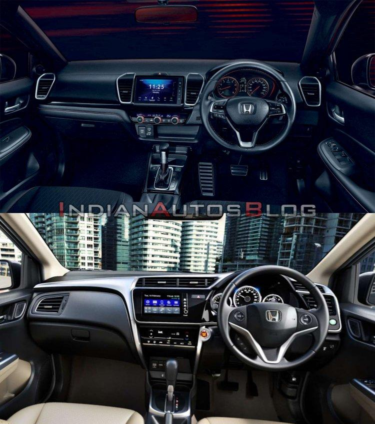 So sánh Honda City 2020 với phiên bản tiền nhiệm