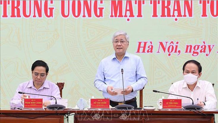Sự phối hợp giữa Chính phủ và MTTQ Việt Nam phù hợp với lợi ích quốc gia, dân tộc