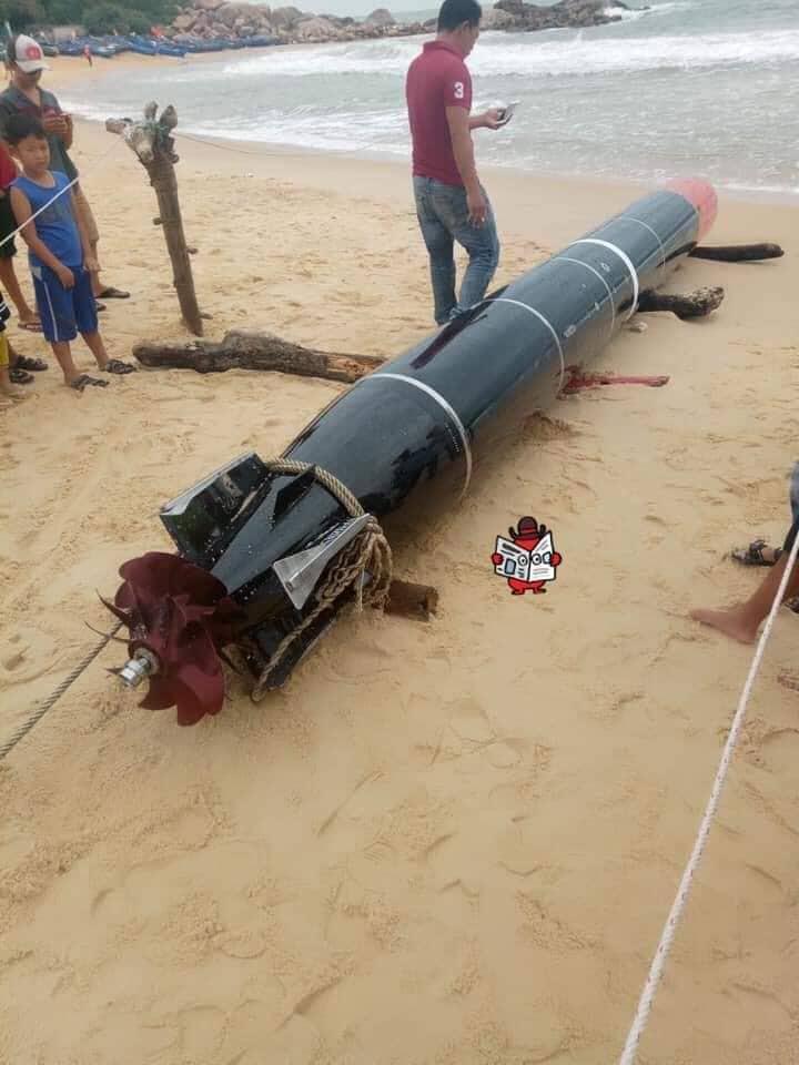 Sự thật vật thể lạ giống ngư lôi dính lưới ngư dân ở Quảng Bình