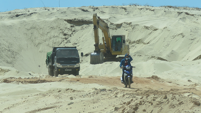 Tăng cường công tác thanh tra lĩnh vực quản lý đất đai, tài nguyên khoáng sản