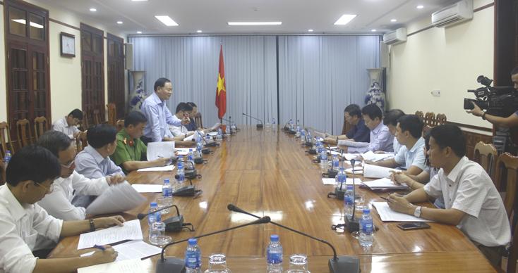 Tăng cường đối thoại với nhân dân để tạo sự đồng thuận thực hiện dự án hệ thống thủy lợi Rào Nan