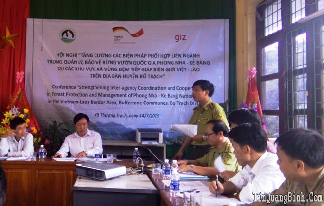 Tăng cường phối hợp liên ngành để bảo vệ rừng, bảo tồn đa dạng sinh học VQG PN-KB