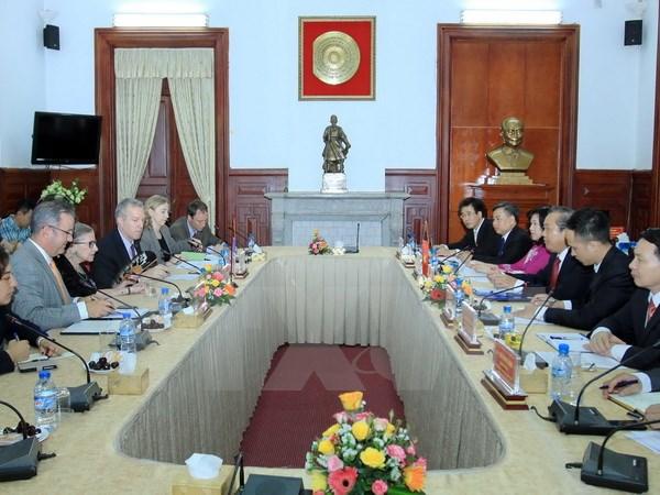Tăng cường trao đổi trong lĩnh vực tư pháp giữa Việt Nam-Hoa Kỳ