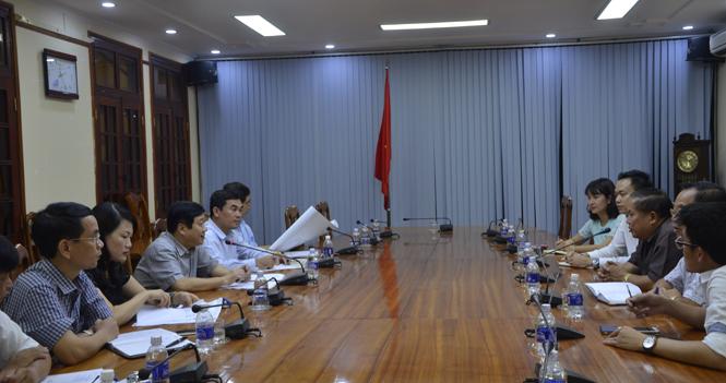 Tập đoàn kinh tế Lào tìm hiểu cơ hội đầu tư tại cảng Hòn La