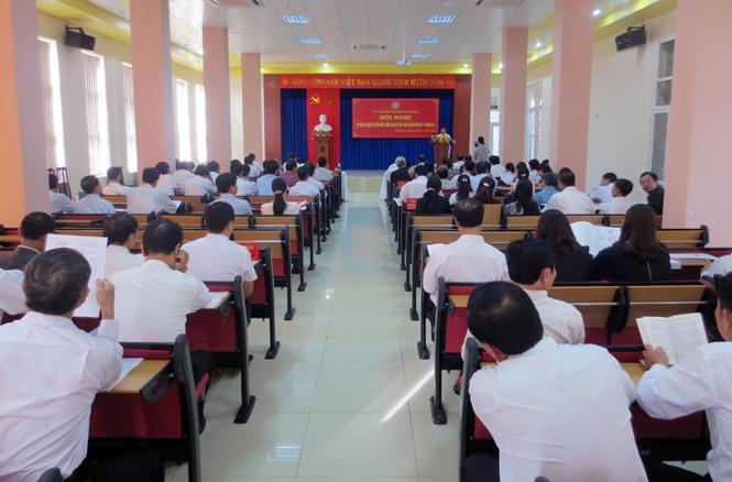 Tập huấn công tác Hội thẩm Tòa án nhân dân 2 cấp đợt 2, năm 2015