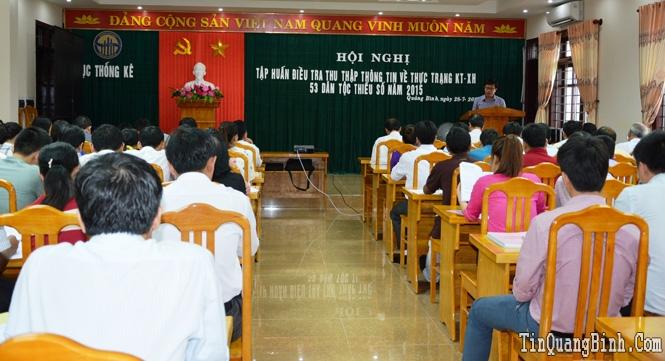 Tập huấn điều tra thu thập thông tin về thực trạng kinh tế-xã hội 53 dân tộc thiểu số