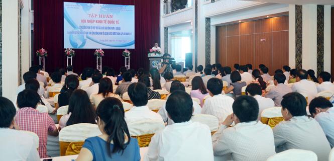 Tập huấn hội nhập kinh tế quốc tế