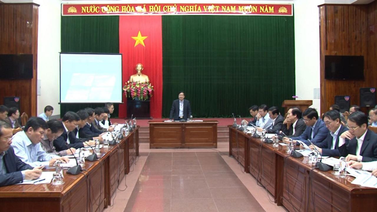 Tập trung hoàn chỉnh Báo cáo Quy hoạch tỉnh Quảng Bình thời kỳ 2021-2030, tầm nhìn đến năm 2050