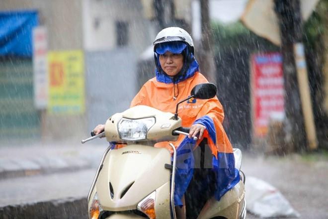 Thanh Hóa đến Thừa Thiên-Huế từ chiều tối và đêm nay có mưa rào và rải rác có dông