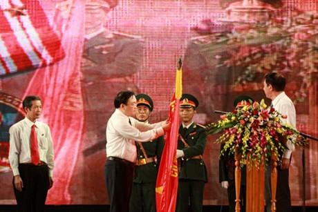 Thành phố Đồng Hới đón nhận Huân chương Độc lập hạng Nhì