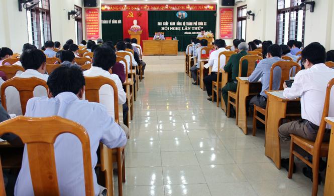 Thành ủy Đồng Hới: Triển khai phương hướng, nhiệm vụ năm 2016