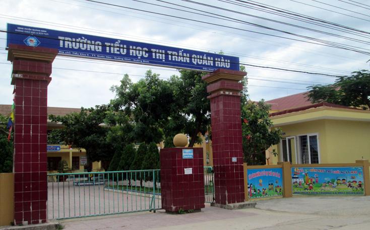Thị trấn Quán Hàu: Khắc phục những tồn tại trong xây dựng cơ bản