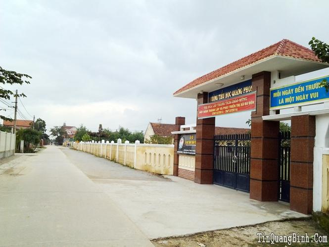 Thị xã Ba Đồn: Đột phá từ Chương trình phát triển kết cấu hạ tầng kinh tế-xã hội