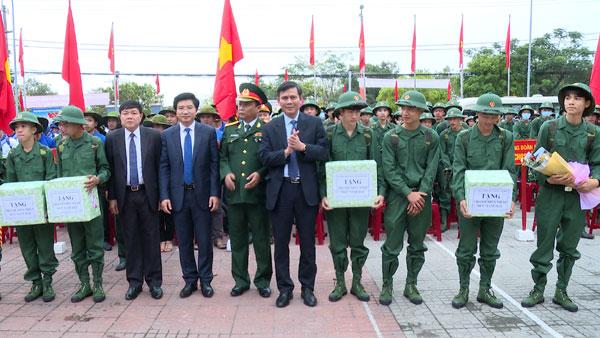 Thị xã Ba Đồn rộn ràng ngày hội giao nhận quân năm 2020