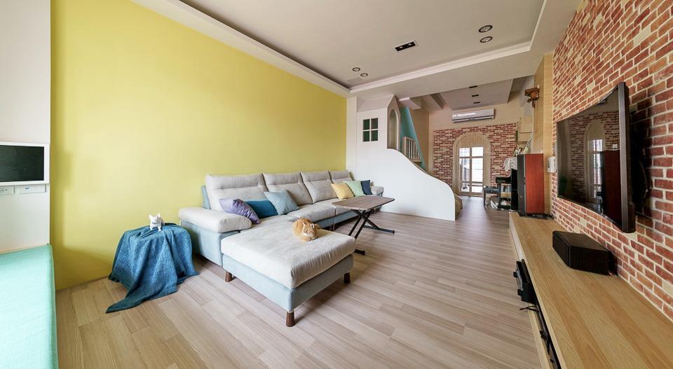 Thiết kế nhà ở với không gian sống động, vui nhộn như chốn công viên để lưu giữ tuổi thơ của các con